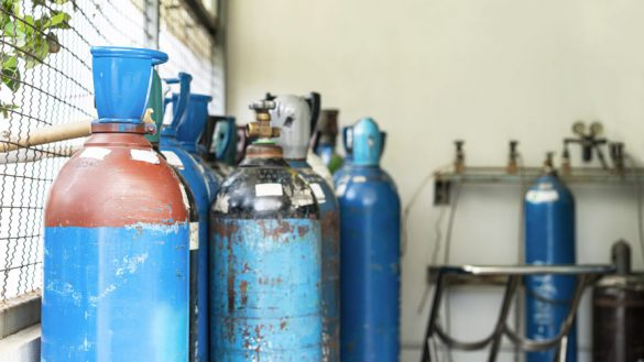 Schutzgas beim Schweißen
